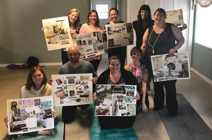 vision board workshop uk